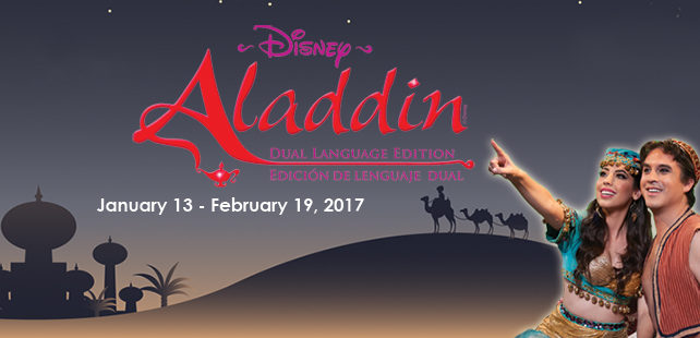 Disney's Aladdin Dual Language Edition Musical Play