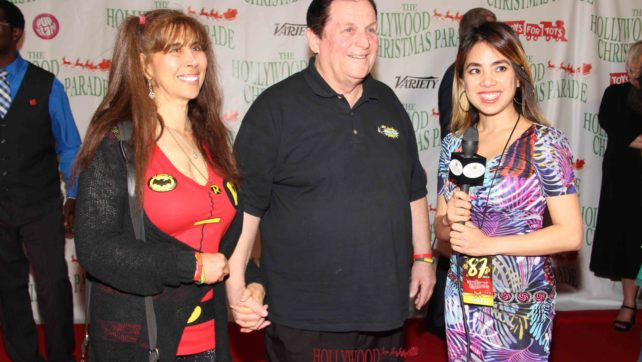 Lily Legushka Interviews Burt Ward at the 87th Hollywood Christmas Parade