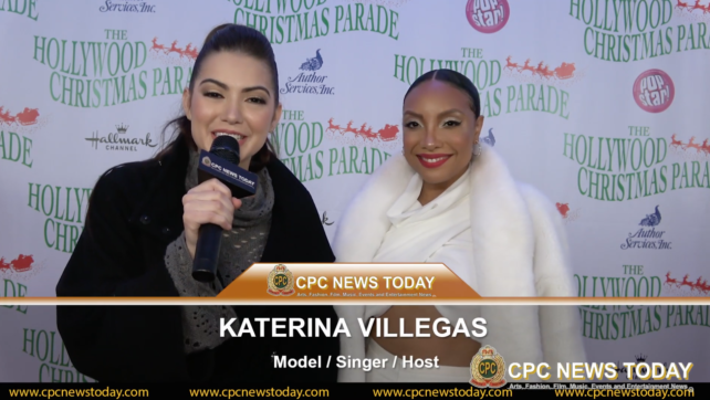 Sheléa Interviewed At The 88th Annual Hollywood Christmas Parade