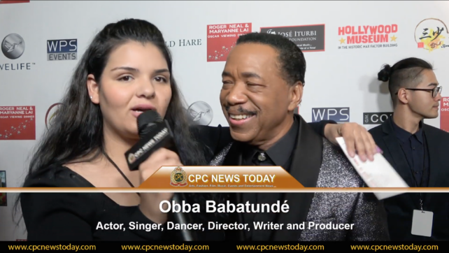 Obba Babatundé Interviewed At The 2020 Oscars